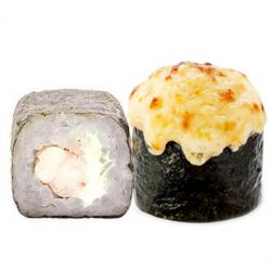 Запеченная Креветка с сыром